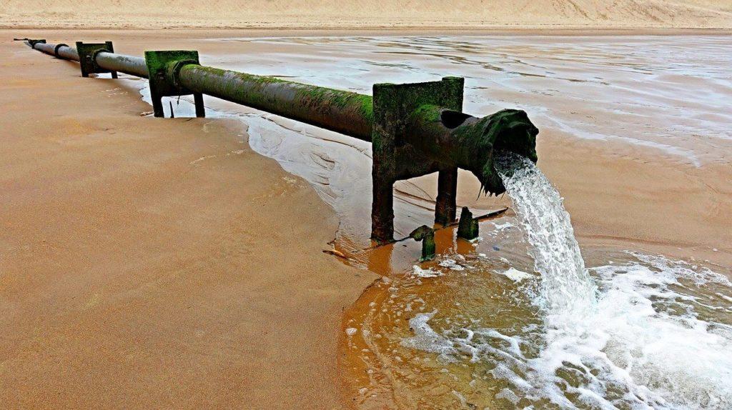 Afvalwater inzameling afbeelding