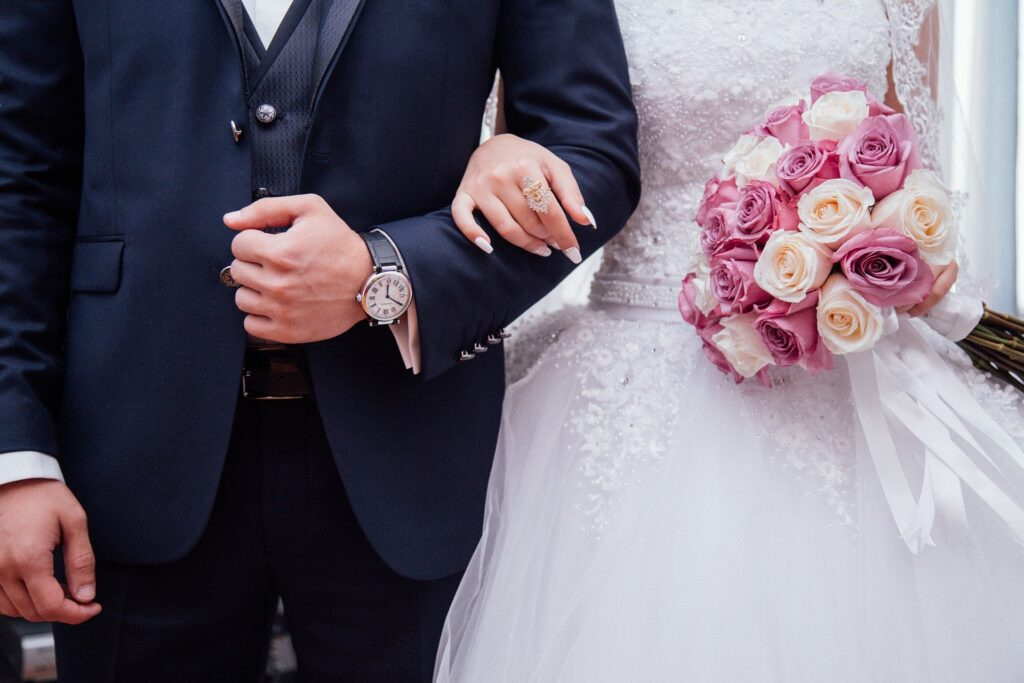 assortiment trouwpakken
